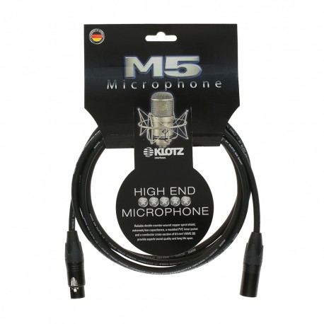 KLOTZ CABLES M5 HIGH-END 6 metros