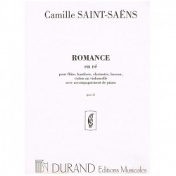 Saint-Saens. Romance Re Mayor Op.51 (Cello y Piano)