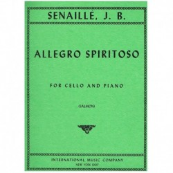 Senaille. Allegro Spiritoso (Cello y Piano)