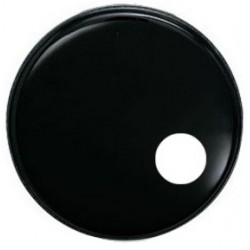 EBONY (SOUNDHOLE) 22""