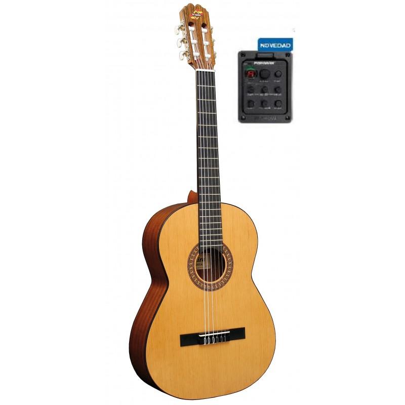 Guitarra admira juanita electrificada fishman for Guitarra admira