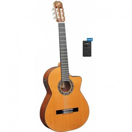 Guitarra ADMIRA Malaga Electrificada Cutaway FISHMAN