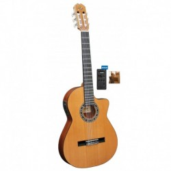 Guitarra ADMIRA Malaga Electrificada Cutaway Estrecha FISHMAN