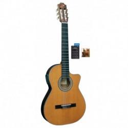 """Guitarra """"ADMIRA"""" Virtuoso Electrificada Cutaway Estrecha FISHMAN"""