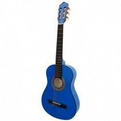 """Guitarra """"ROCIO"""" C7N (1/2) Cadete 85 cms AZUL"""