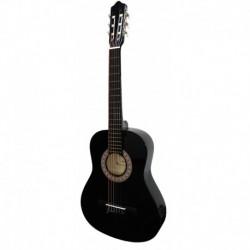 """Guitarra """"ROCIO"""" C16 (3/4) 90 cms NEGRO"""