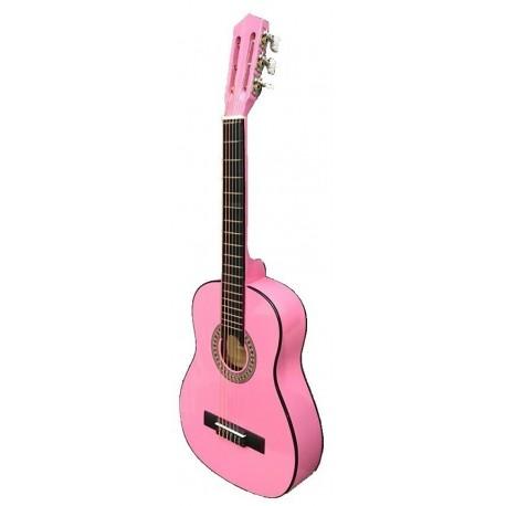 """Guitarra """"ROCIO"""" C16 (3/4) 90 cms ROSA"""
