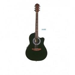 "Guitarra Oval ""DAYTONA"" 300BE Negra"