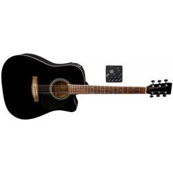 Guitarra electro-acústica vgs D-10CE Ebony