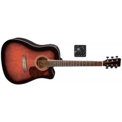 Guitarra electro-acústica vgs D-10CE Violinburst