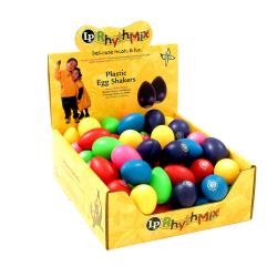 RHYTHMIX Shaker Huevo Expositor Colores mezclados