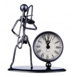 Escultura con reloj Flöte Trombón