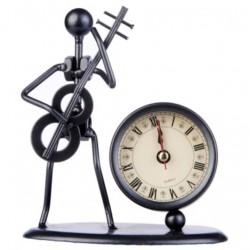 Escultura con reloj Flöte Bajo