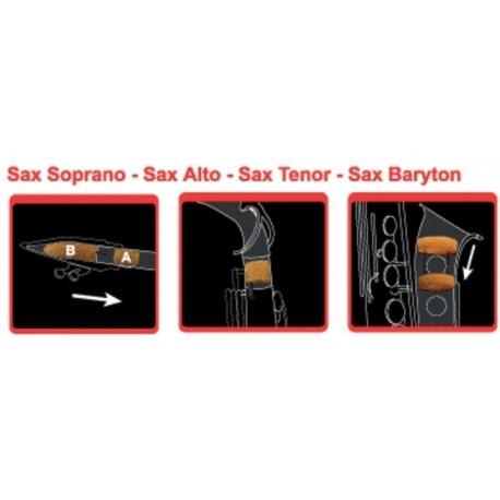 Sordina para saxo Saxofón tenor