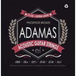 Cuerdas para guitarra acústica Adamas Phosphor Bronze Super-Light .011-.052