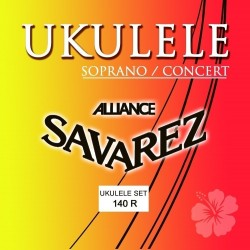 Cuerdas para ukulele Soprano/Concierto Juego Sopran/Concert