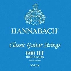 Cuerdas para guitarra clásica, Serie 800 Tensión Alta Plateado Juego high