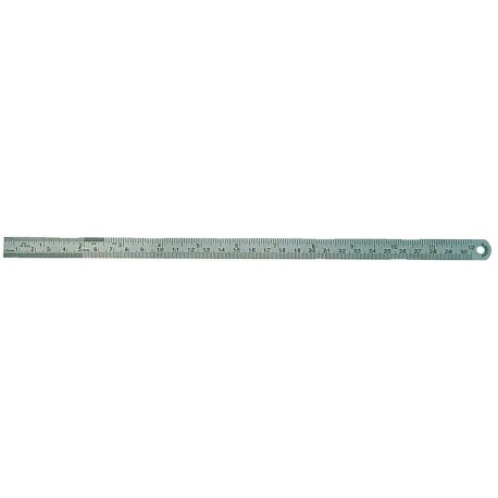 Regla de acero 30 cm