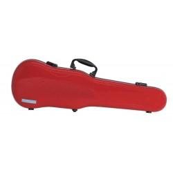 Estuche de violín con forma Air 1.7 Rojo brillo