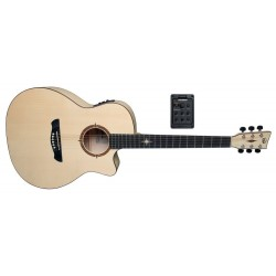 Guitarra electro-acústica P-20 CE Polaris Satinado natural, poro abierto
