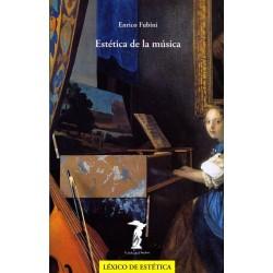 Fubini, Enrico. Estética de la Música