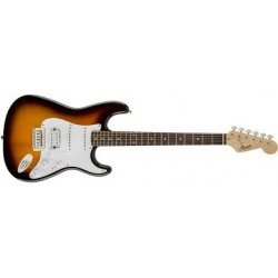 Fender Squier Bullet Strat Brown Sunburst HSS