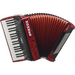 HOHNER BRAVO III 80 RED NEW