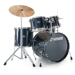 BATERIA SONOR SMART FORCE STAGE BLACK.