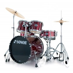 BATERIA SONOR SMART FORCE STAGE WINE RED
