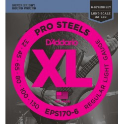 eps170 6 prosteels 6 string bass light long scale 32 130