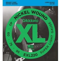 exl220 xl nickel wound super light 40 95