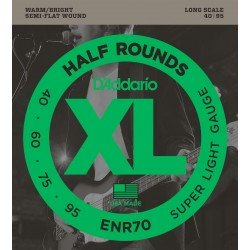 enr70 xl half rounds super light 40 95