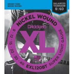 D'Addario EXL120BT Balanced Tension Super Light [09 40]