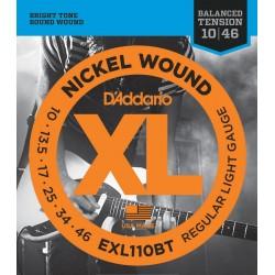 D'Addario EXL110BT Balanced Tension Regular Light [10 46]