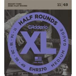 D'Addario EHR370 Half Rounds Medium [11 49]