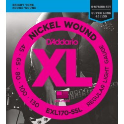 exl170 5sl 5 string bass light super long scale 45 130