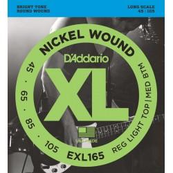 D'Addario EXL165 Long Scale [45 105]