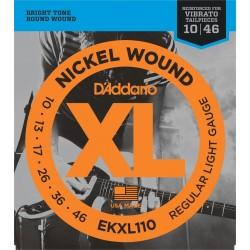 D'Addario EKXL110 Regular Light Tremolo [10 46]