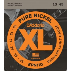 D'Addario EPN110 Pure Nickel Blues/Jazz Rock [10 45]