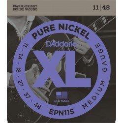 D'Addario EPN115 Pure Nickel Blues/Jazz Rock [11 48]