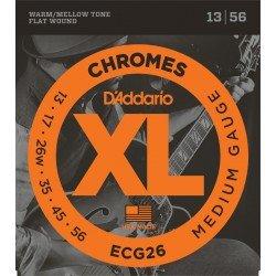 D'Addario ECG26 Chromes Medium [13 56]