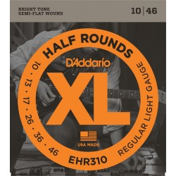 D'Addario EHR310 1/2Rounds [10 46]