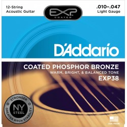 exp38 phosphor bronze light 10 47 12 cuerdas