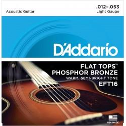 eft16 flat tops phosphor bronze regular 12 53