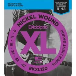 D'Addario EKXL120 XL Super Light Reinforced [9 42]