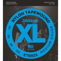 D'Addario ETB92S Tapewound Bass Medium Short Scale [50 105]