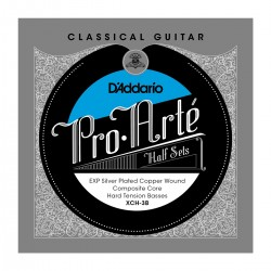 D'Addario XCH 3B Pro Arte Classical Halfsets EXP Composite Silver Hard Tension