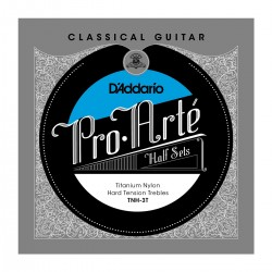 D'Addario TNH 3T Pro Arte Classical Halfsets T2 Titanium Hard Tension
