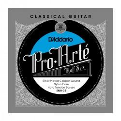 D'Addario SNH 3B Pro Arte Classical Halfsets Silver Hard Tension