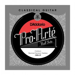 D'Addario CBN 3T Pro Arte Classical Halfsets Carbon Normal Tension